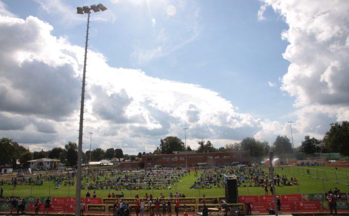 Triathlon 2017 in Erkner.