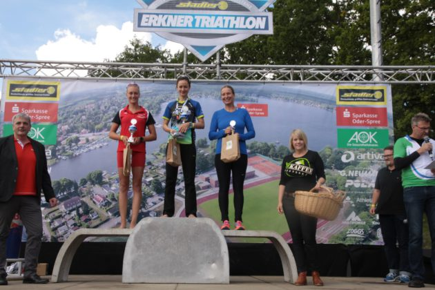 Triathlon 2017 in Erkner.