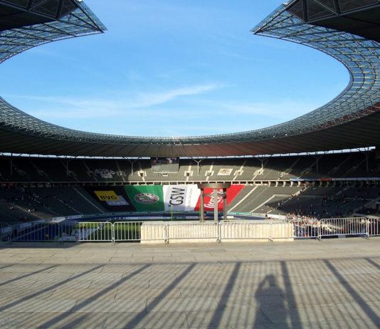 Das Olympiastadion in Berlin.