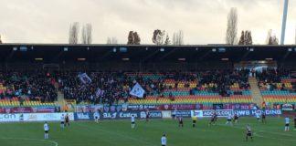 BFC Dynamo Berlin versus 1. FC Lokomotive Leipzig