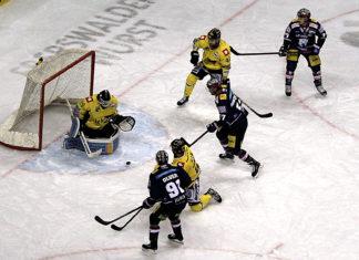 Eisbären Berlin versus Krefeld Pinguine