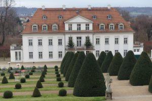 Schloss Wackerbarth in Sachsen.