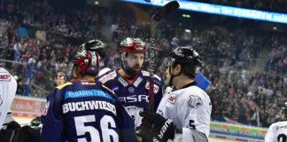 Ice Tigers und Eisbären spielten am 19. Dezember 2017 in Berlin.