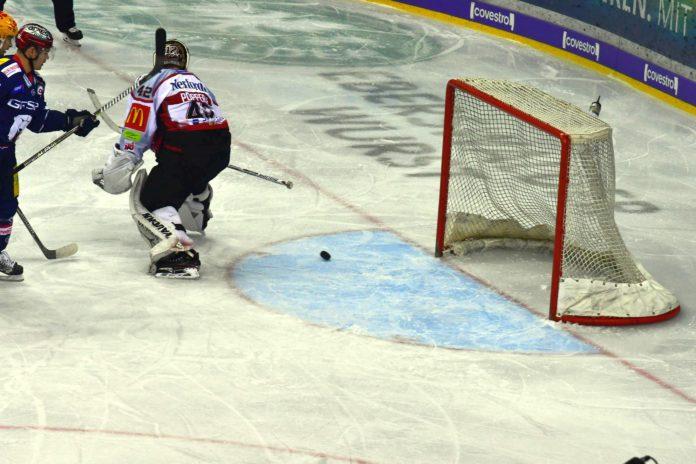 Berliner Eisbären versus Pinguins aus Bremerhaven.