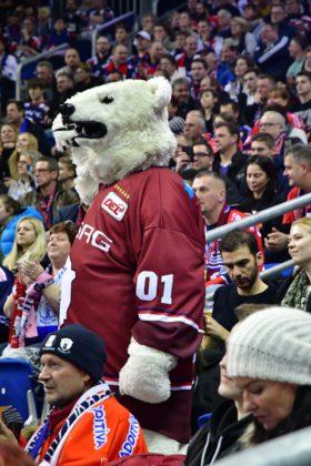 Eisbären Berlin versus Kölner Haie am 15. Dezember 2017 in Berlin.