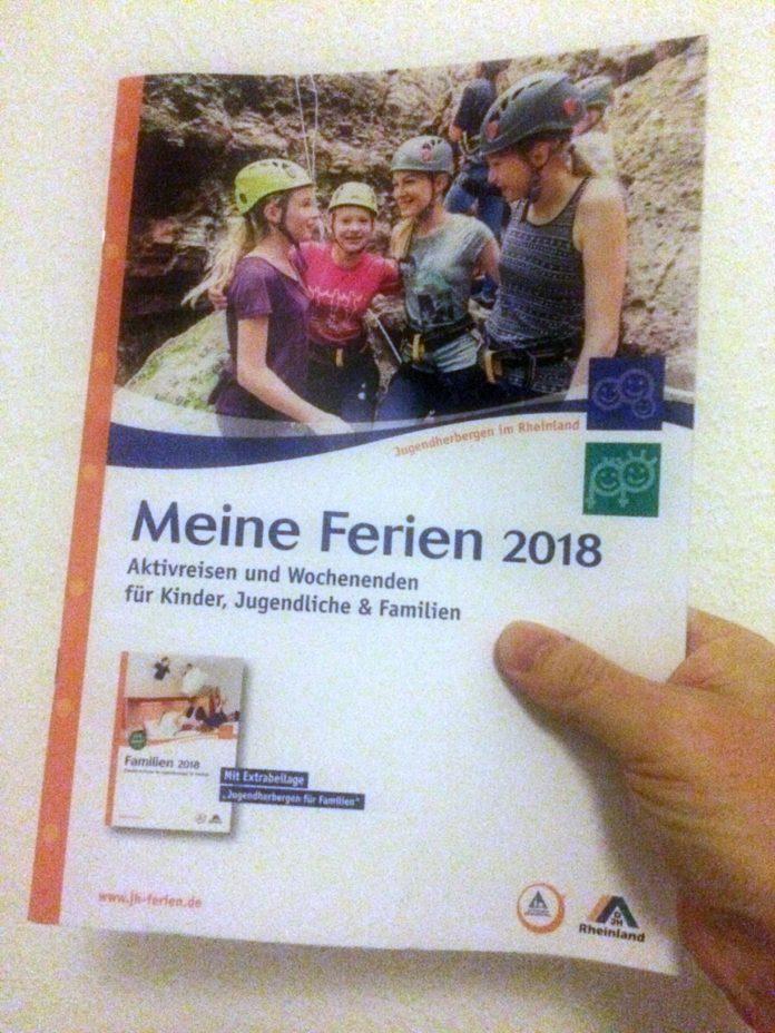 Meine Ferien 2018 - Jugendherbergen im Rheinland