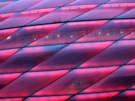 Kaiserklo als Heimspielstadion des FC Bayern München.