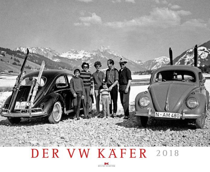 Der VW-Käfer-Kalender 2018.