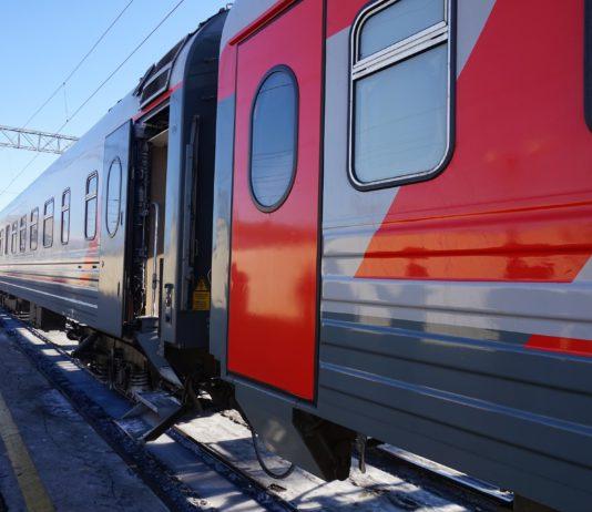 Zug in Russland