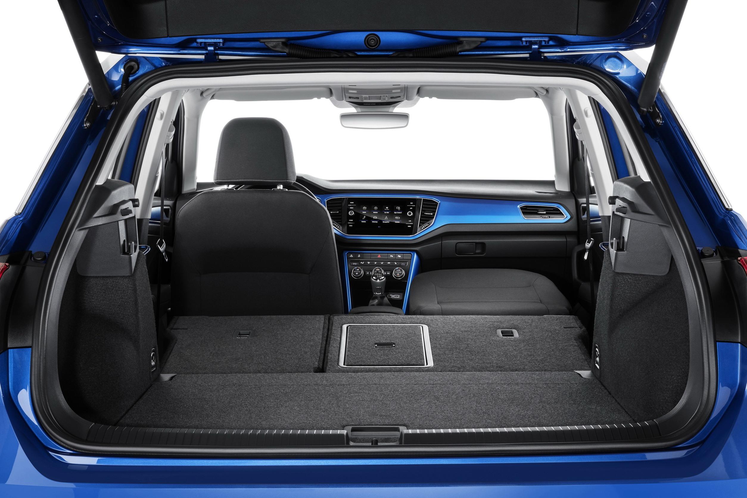VW T-Roc Interieur Laderaum 2017 QF Copyright Volkswagen - Das ...