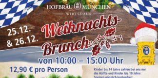 Weihnachts-Brunch im Hofbräu München - Wirtshaus Berlin.
