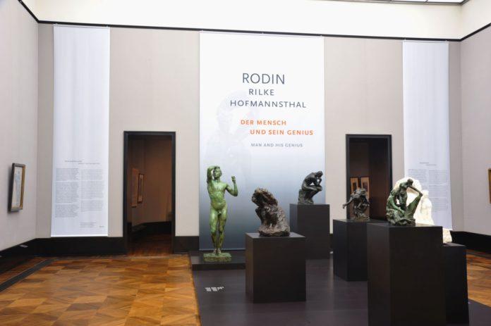 Auguste Rodin in Berlin.