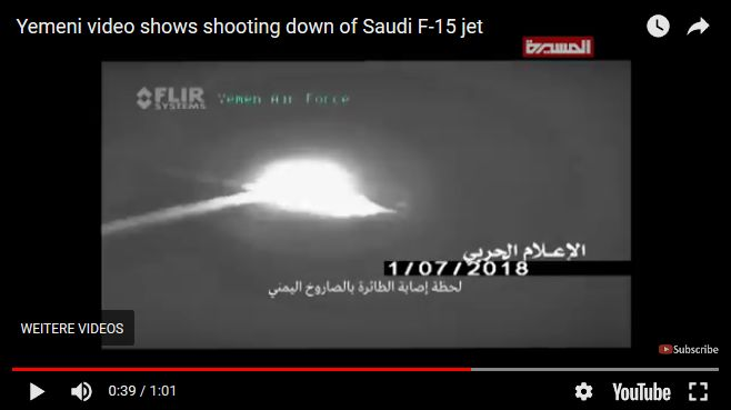 Iranische Flak bekämpft US-amerikanische F-15-Eagle.