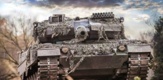 Panzer vom Typ Leopard 2.