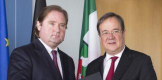 Lutz Lienenkämper (CDU) und Armin Laschet (CDU).