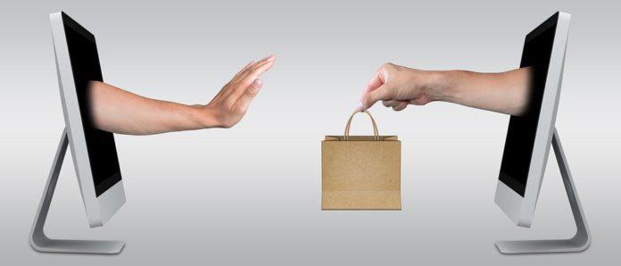 Online einkaufen.