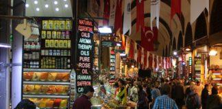 Türkischer Basar in Istanbul.