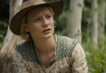 "Mia Wasikowska in ""Damsel"" von David & Nathan Zellner."