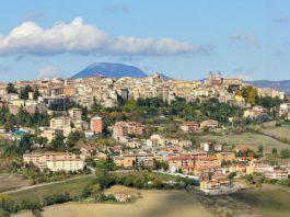 Macerata in Italien.