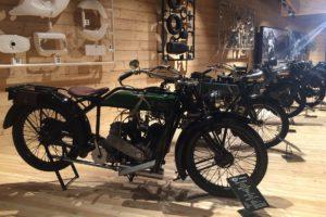 Motorradmuseum an der Timmelsjocher Hochalpenstraße.