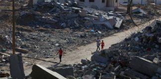 Zerstörungen im Gazastreifen (Archivbild).