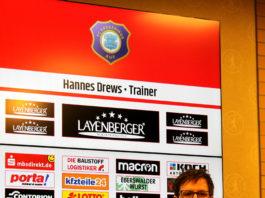Hannes Drews, Cheftrainer beim FC Erzgebirge Aue.