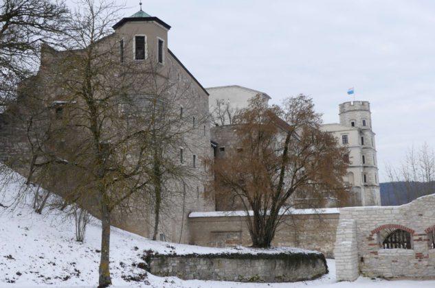 Die Willibaldsburg über dem Altmühltal.