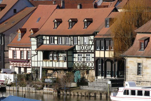 Fachwerkarchitektur Bamberg.