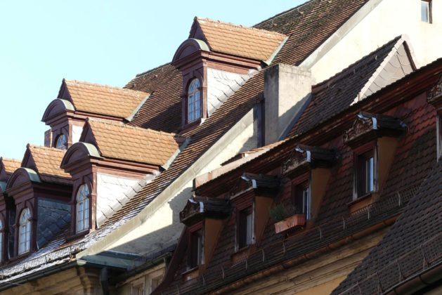 Dacharchitektur Bamberg.