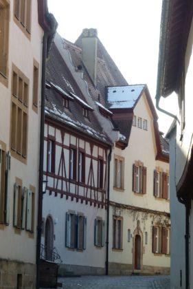 Altstadtarchitektur Bamberg.