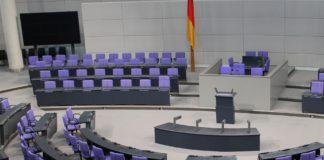 Bundestag im Reichstag.