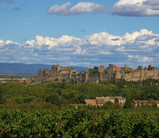 Carcassonne in Frankreich.
