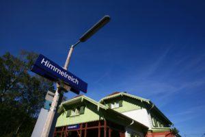 Bahnhof Himmelreich im Schwarzwald.