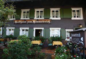 Gasthaus zum Himmelreich im Schwarzwald.