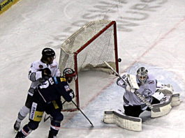 Eisbären Berlin gegen Ice Tigers Nürnberg.