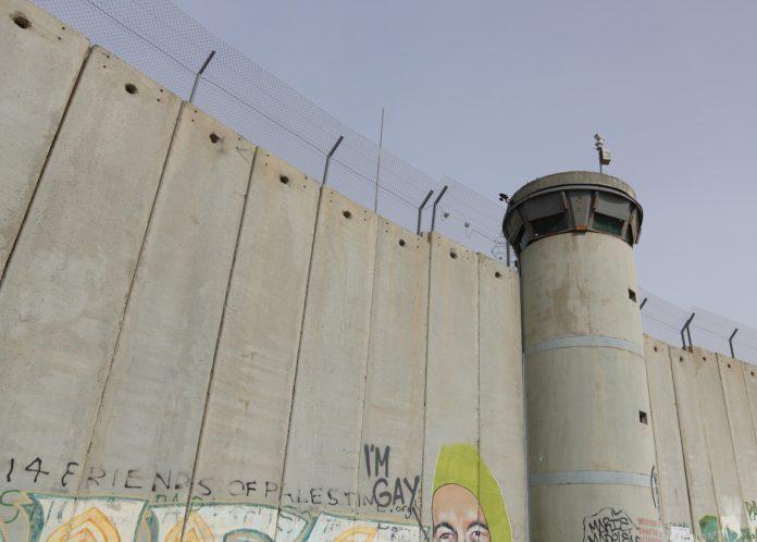 Israelische Mauer.