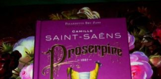 """""""Proserpine"""" von Camille Saint-Saëns."""