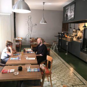 Das Restaurant Rusty im Berliner Reuterquartier.