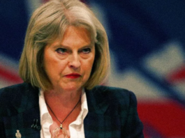 Theresa May.