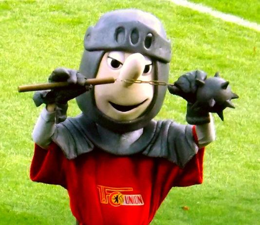 Ritter Keule, Maskottchen des 1. FC Union Berlin.