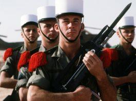 Die Légion étrangère, Frankreichs Fremdenlegion.