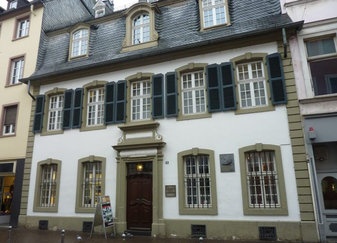 Ein Blick aufs Karl-Marx-Haus in Trier.