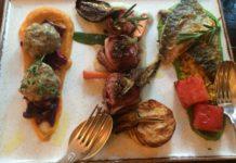Speisen im Berliner Restaurant Neumond.