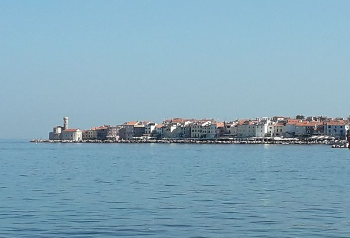 Piran in Slowenien.