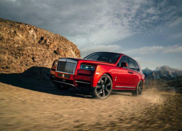 Cullinan, der SUV von Rolls-Royce.