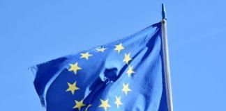Die Flagge der EU.