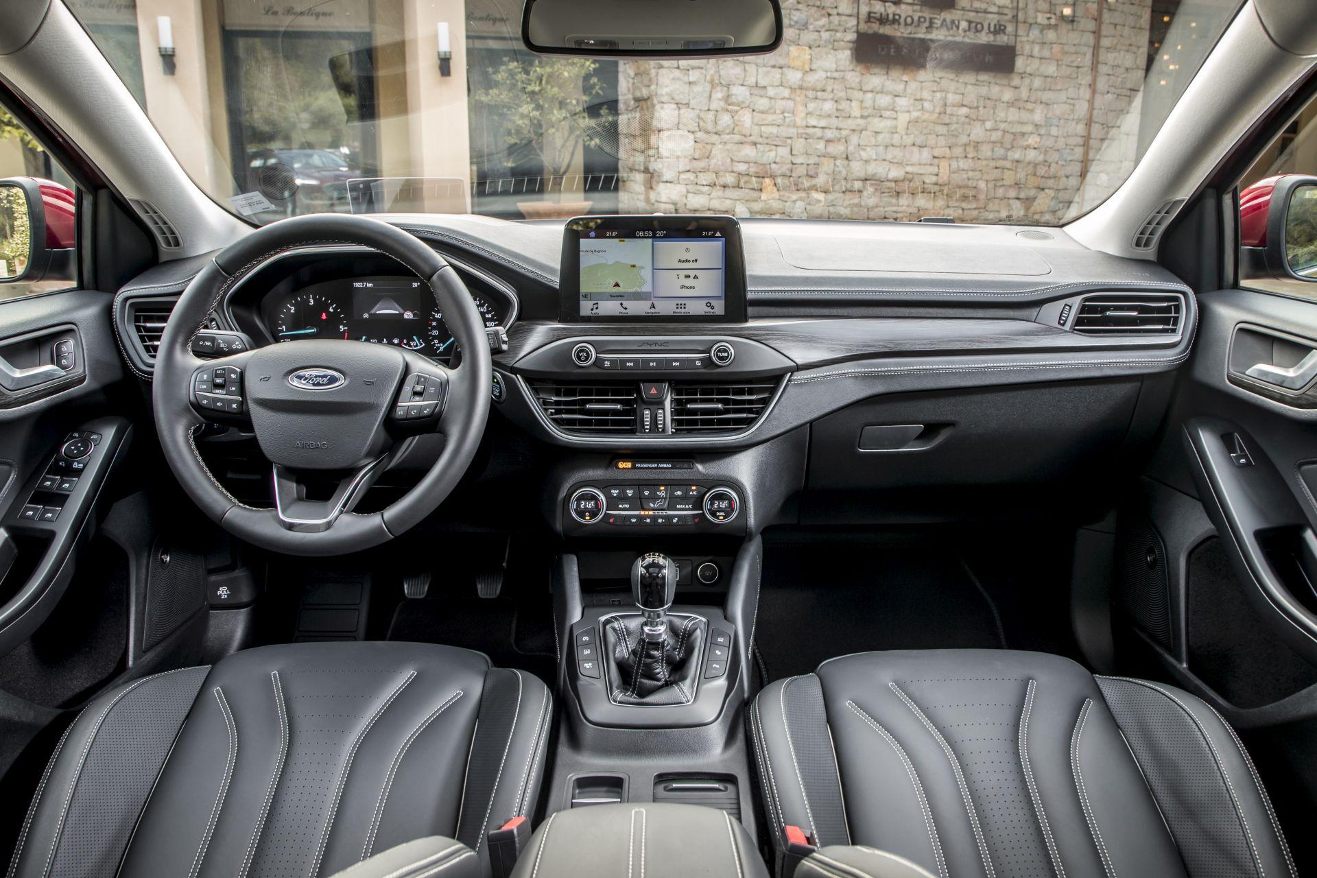 Focus Vignale 025 Interieur Font Nizza 2018-06-22 QF Copyright Ford ...