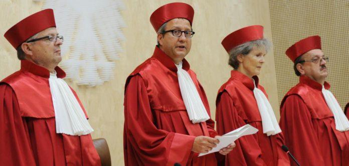 Verfassungsgerichtspräsident Voßkuhle.