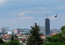 Ein Blick auf Berlin vom Kreuzberg.