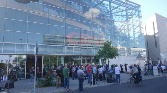 CDU-Zentral in Berlin am 2. Juli 2018.